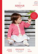 Sirdar Snuggly Baby Cashmere Merino DK Knitting Pattern Booklet - 5242 Cardigans
